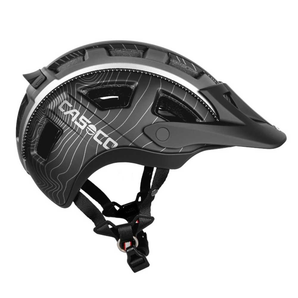schwarz| CASCO Fahrradhelm MTBE in Schwarz