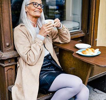 Mediven Elegance Trendfarbe Grau