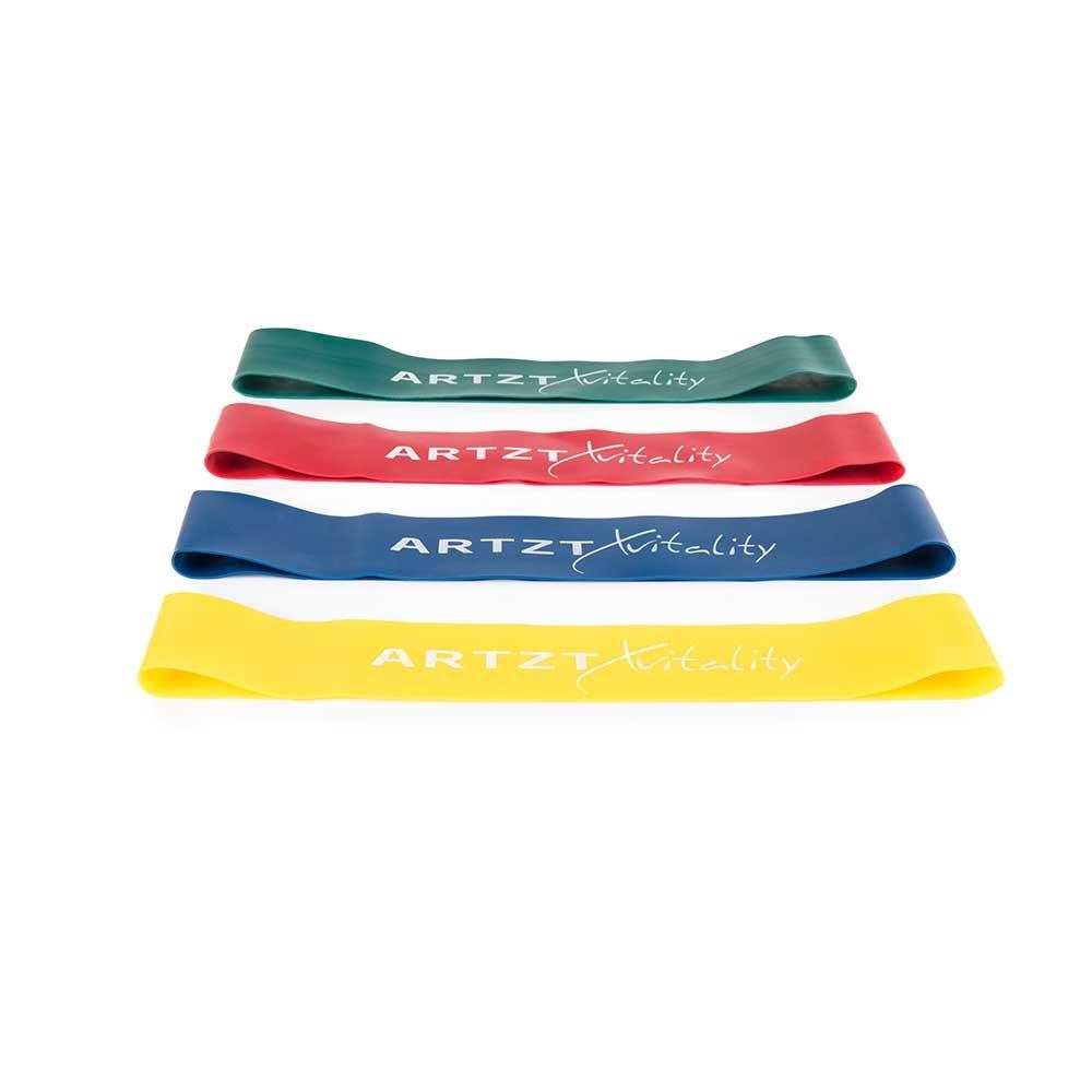 ARTZT vitality Rubber Band - Fitnessbänder in verschiedenen Bandstärken