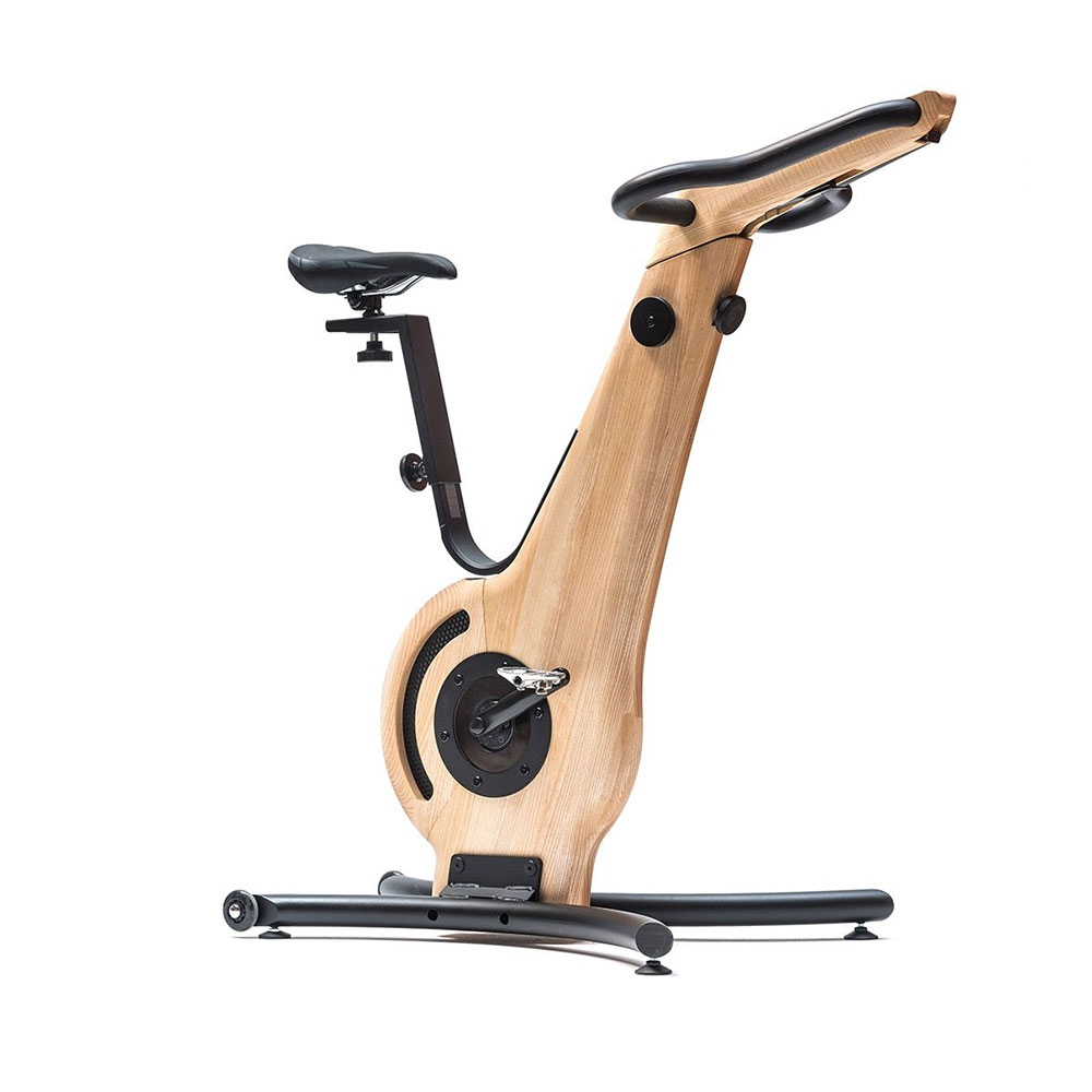 Esche| NOHrD Biketrainer - Fahrradergometer aus edlem Holz