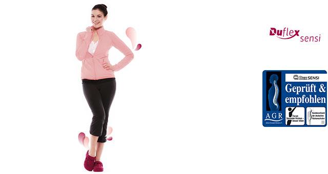 Die Sensi Clogs zeichnen sich durch ein weiches Schuhgefühl sowie Therapie- & Trainingseigenschaften