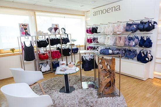 Bei uns finden Sie Brustprothesen und Dessous von Amoena und Anita