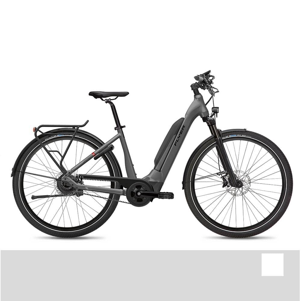FLYER E-Bike Upstreet5 7.23 Comfortrahmen Weiß