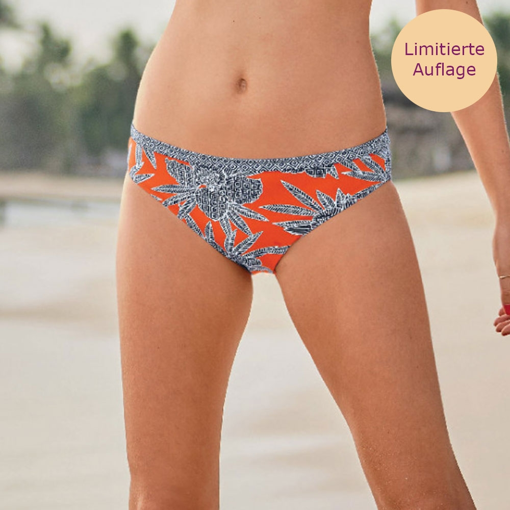 Anita Bikinihose Mia Bottom Bahia Floral mit gemäßigtem Beinausschnitt