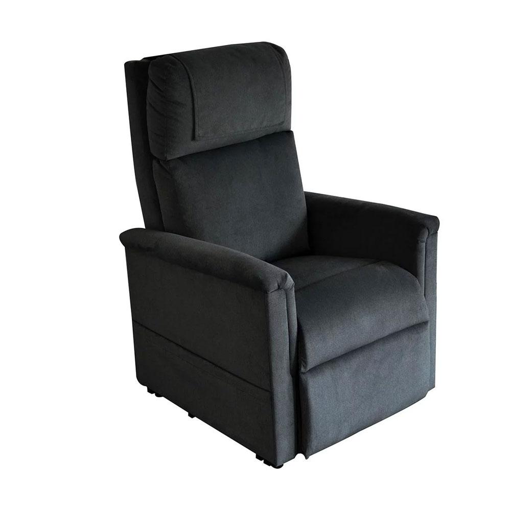 Schwarz-Soft-Touch| GOLDEN Moderner Komfort Sessel 2 Motoren
