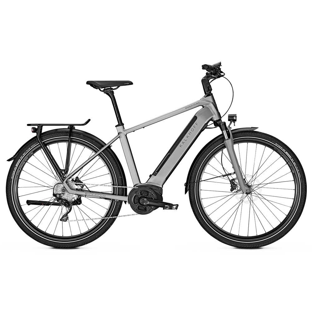 grau| Kalkhoff E-Bike Endeavour 5.B XXL Modell 2020, Diamante Herrenrahmen, Farbe: Torontogrey matt