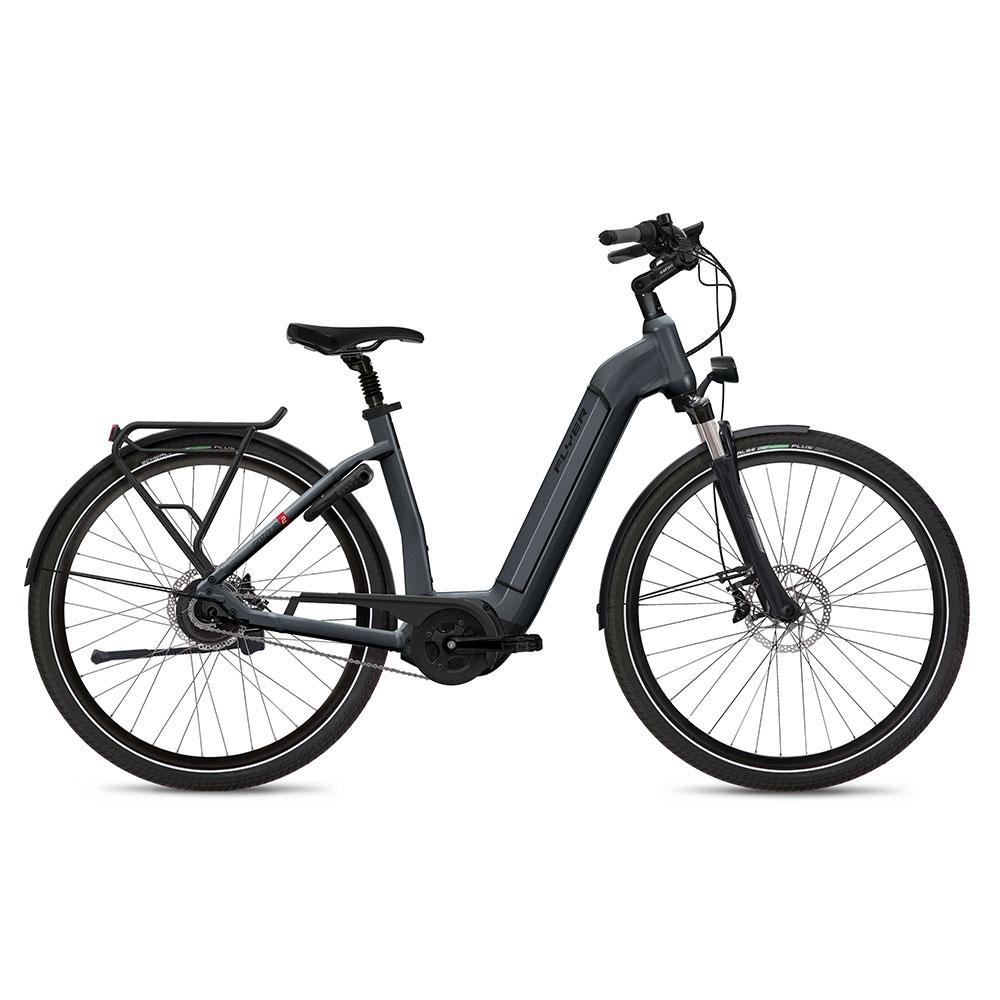 Flyer Gotour2 5.00 E-Bike mit Komforteinstieg in Grau
