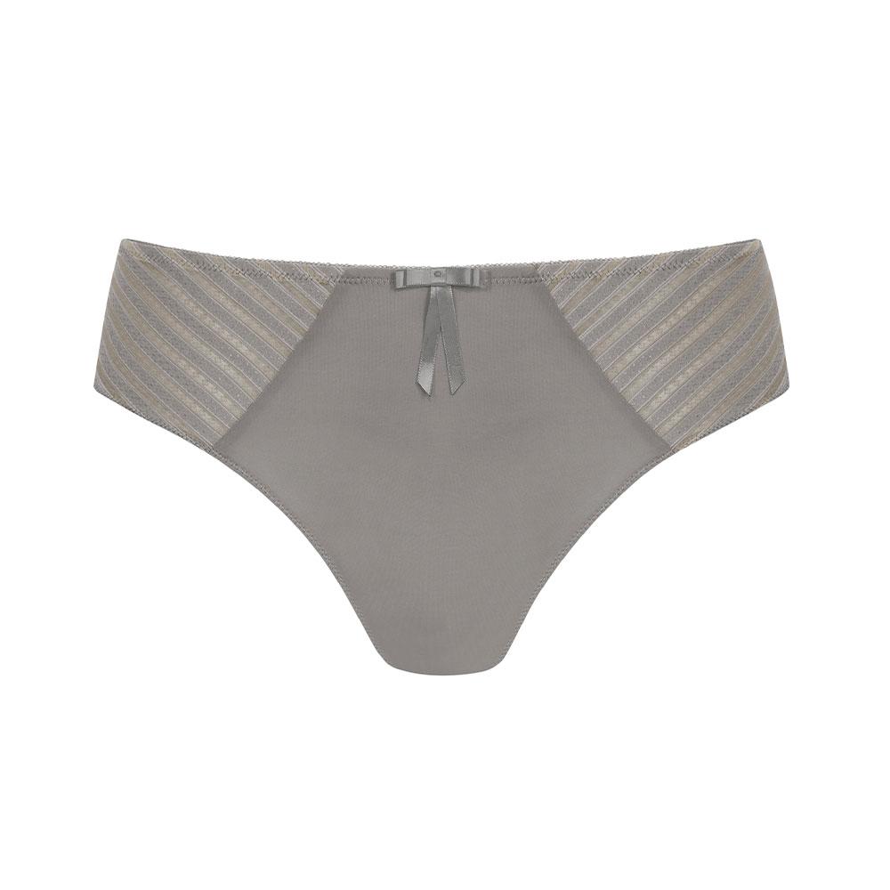 Amoena Urban Stripes Panty grau Ansicht vorne