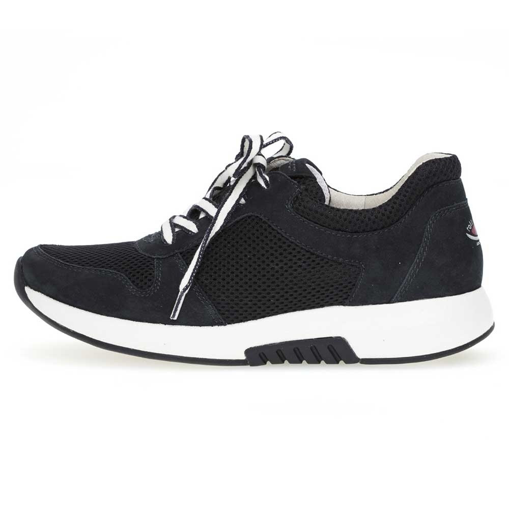 blau| Gabor Rollingsoft sensitive Sneaker Mesh in Nightblue