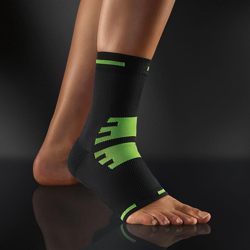 Bort Active Color Sport Knöchelbandage in grün-schwarz