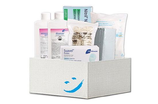 Pflegehilfsmittel zum Verbrauch bequem nach Hause geliefert