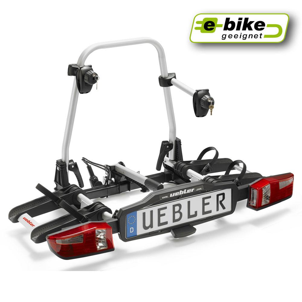 Uebler X21 S Fahrradträger für Anhängerkupplung für 2 Fahrräder