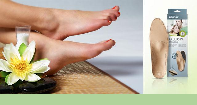 Schuheinlagen für mehr Komfort beim Gehen und Stehen!