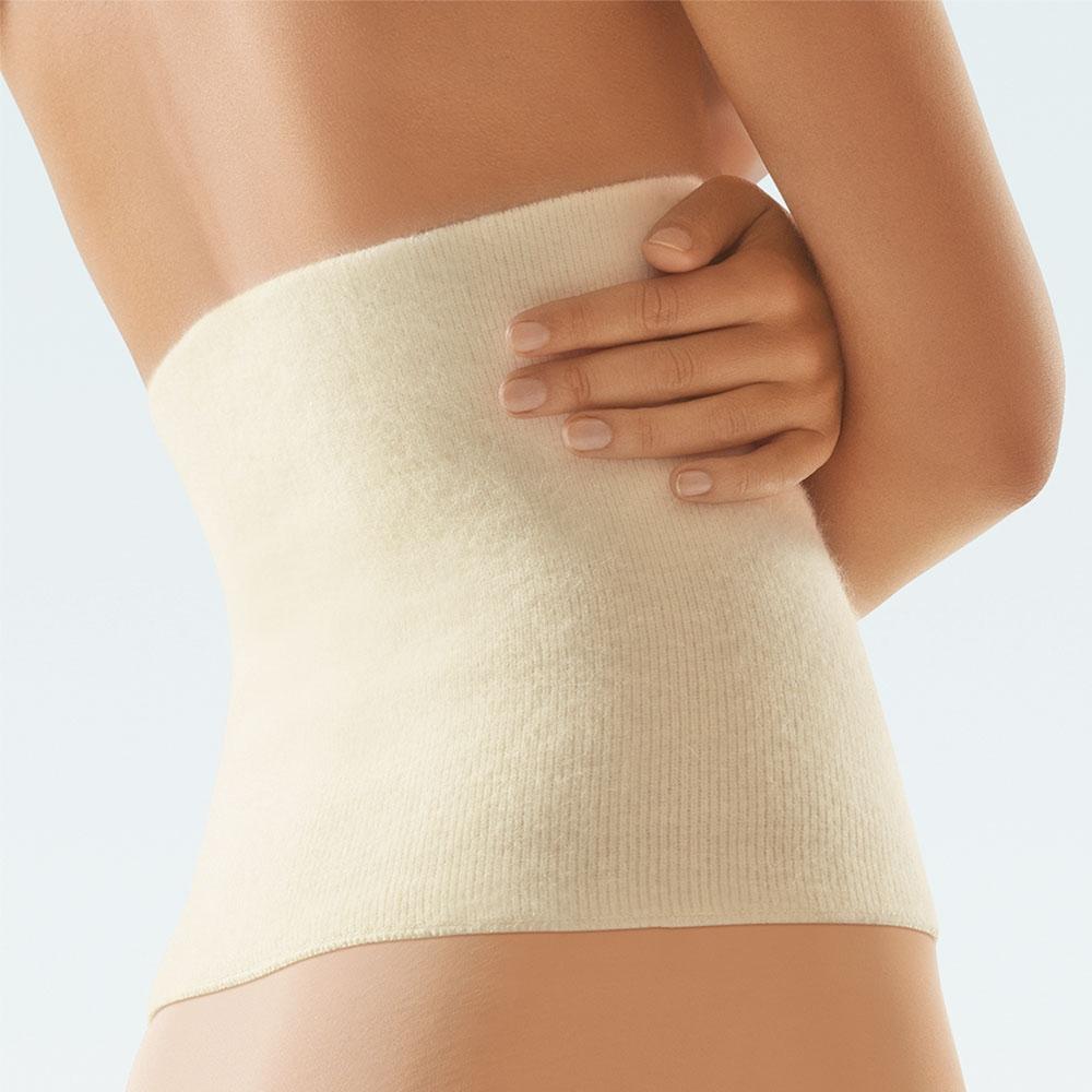 Bort ClimaCare Leibwärmer, Rückenwärmer und Nierenwärmer, Farbe: Weiß Swatch