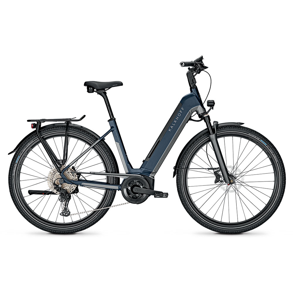 Kalkhoff E-Bike Endeavour 5B Advance  Herrenrahmen Waverahmen in Blau