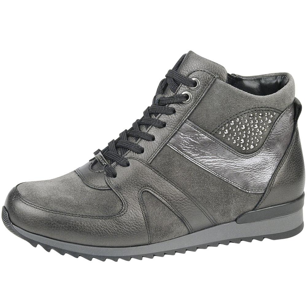 grau| Waldläufer High Sneaker Hurly Schiefer