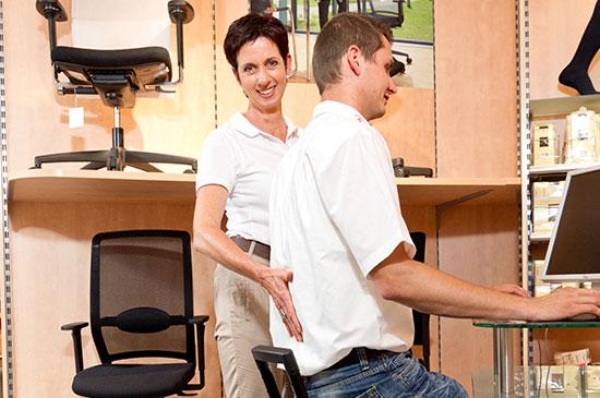 Rückenschmerzen adé  mit unserer Ergonomie-Beratung