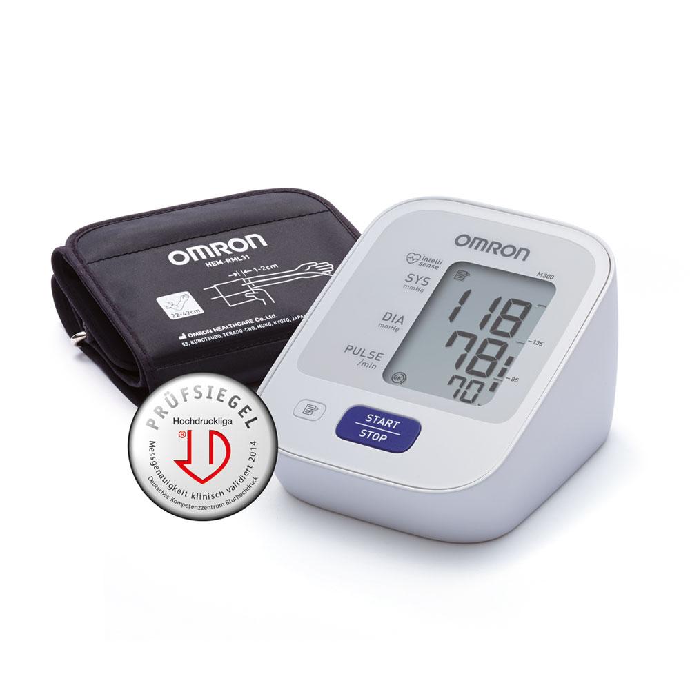 OMRON Blutdruckmessgerät M 300 - einfaches und kompaktes Einsteigergerät
