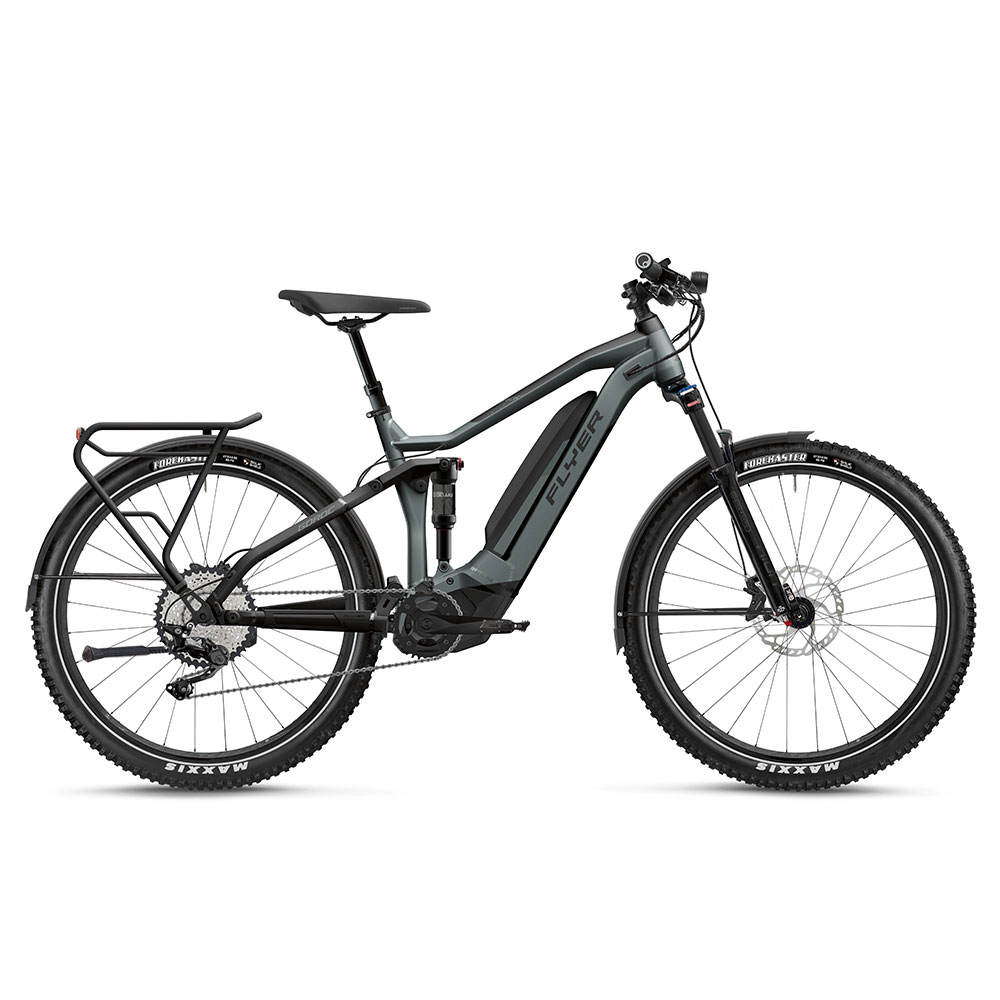 FLYER E-Bike Goroc4 4.10 in Schwarz