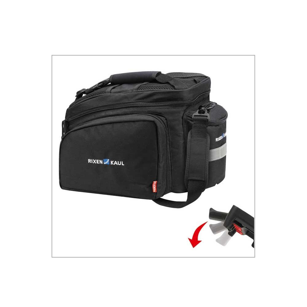 Rackpack 2 Plus UniKlip Gepäckträgertasche in der Farbe Schwarz