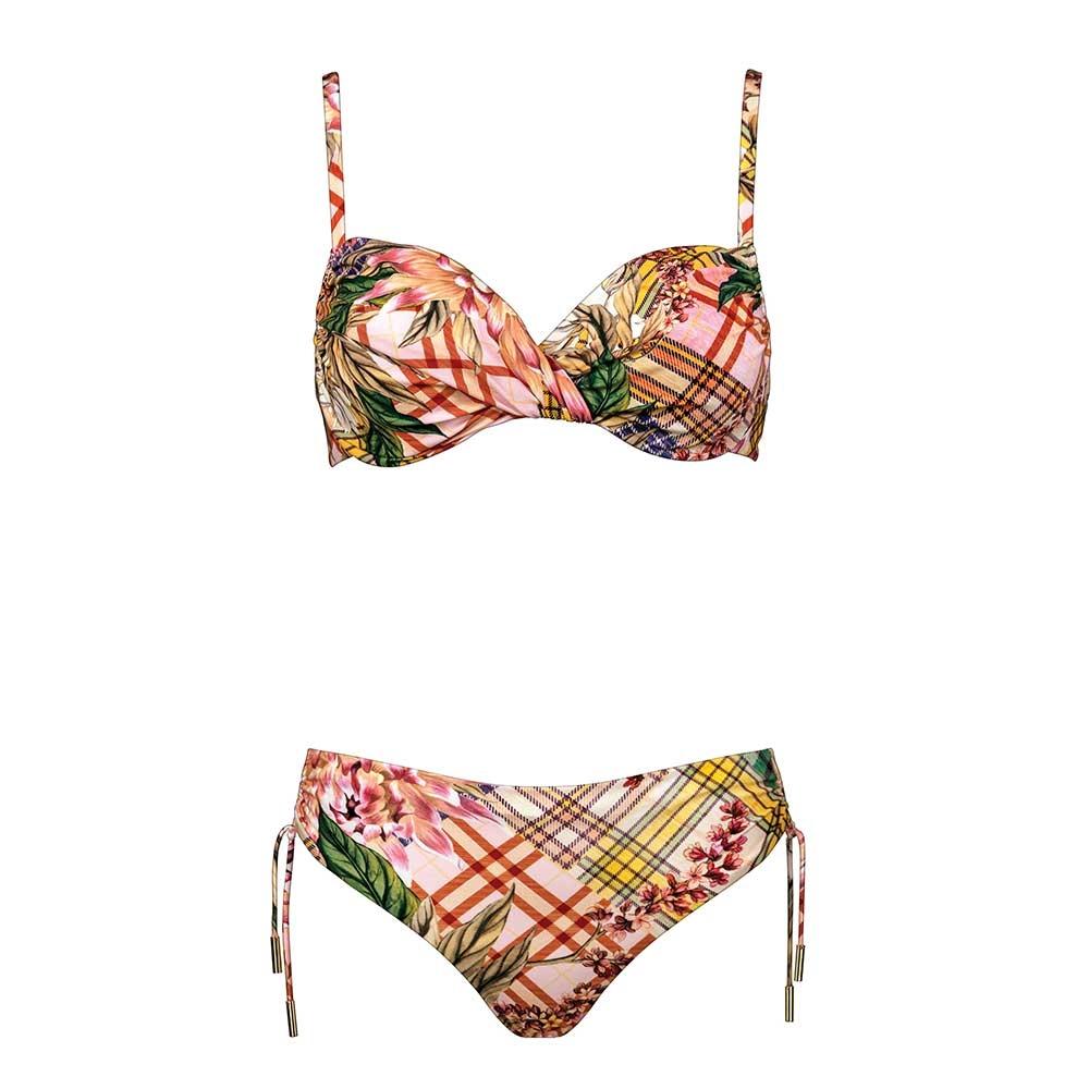Maryan Mehlhorn Punk de Fleurs Bügel-Bikini