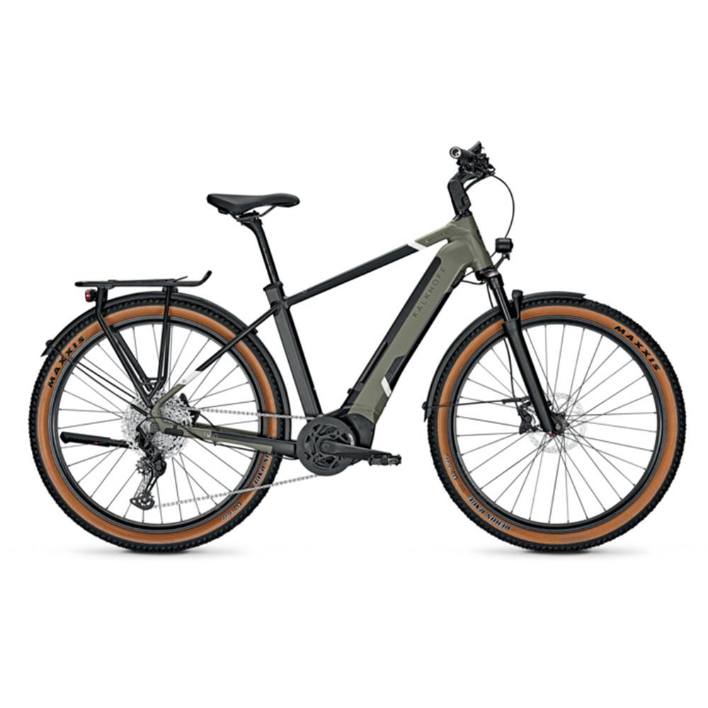 Kalkhoff E-Bike Entice 5.5 Advance Plus Green Diamant-Rahmen