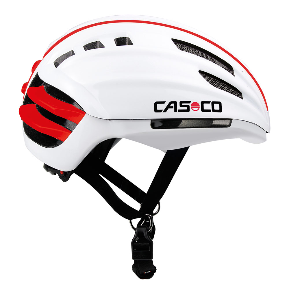 Casco SPEEDairo Fahrradhelm, Farbe: weiß