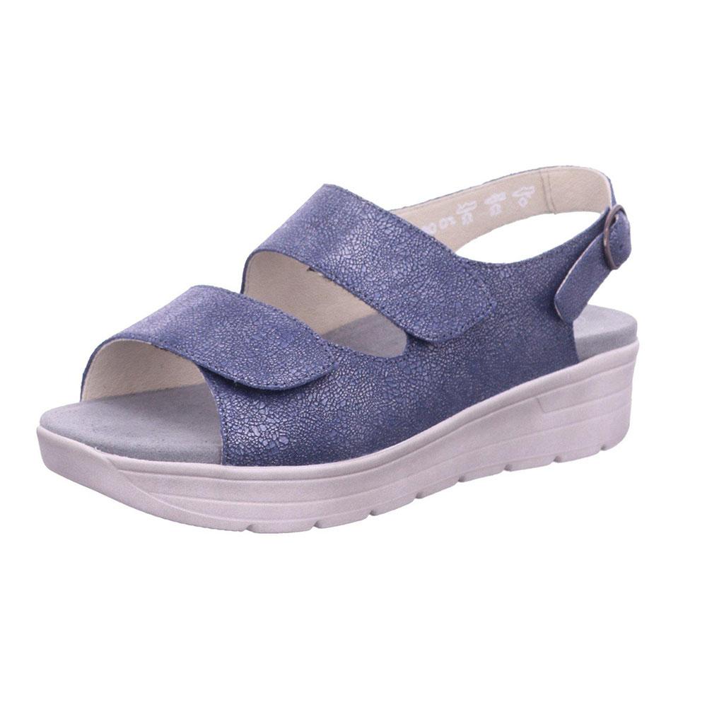 Solidus Sandale für Damen Greta Ocean in Blau