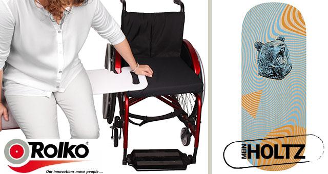 Umsetz- und Transferhilfen erleichtern den Alltag bewegungseingeschränkter Personen