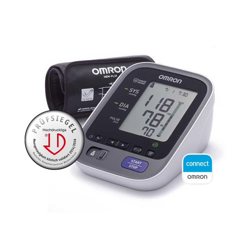 OMRON Blutdruckmessgerät M700 Intelli IT mit Smartphone App OMRON connect