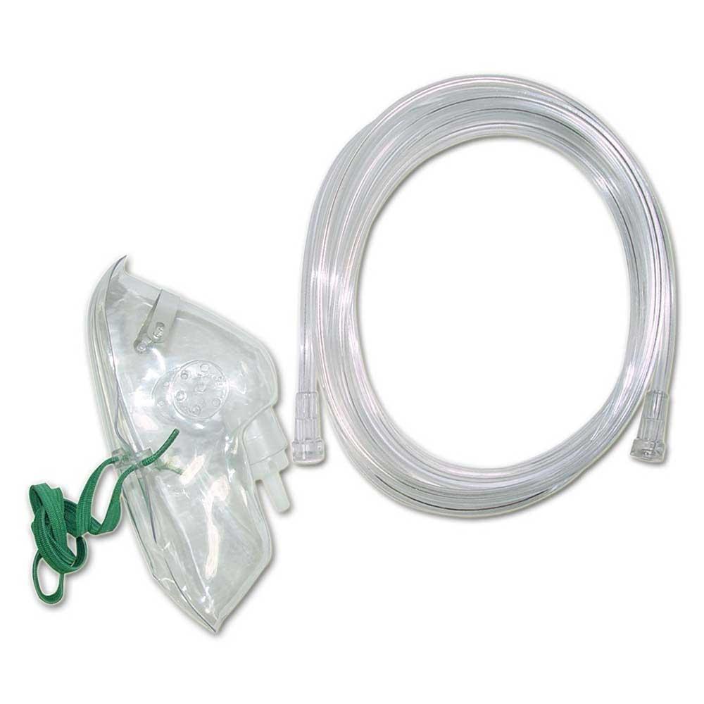 Sauerstoffmaske zum Anschluss an einen Sauerstoffkonzentrator oder ein Sauerstofftherapiegerät