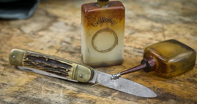 Stumpfe Messer und Handwerksgeräte machen wir wieder scharf