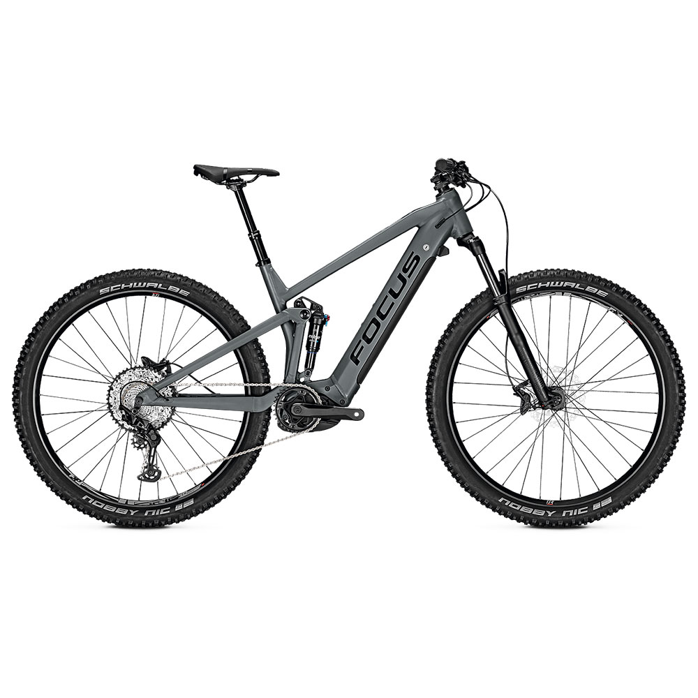 FOCUS E-Bike Thron2 6.8  in Grey Sesitenansicht