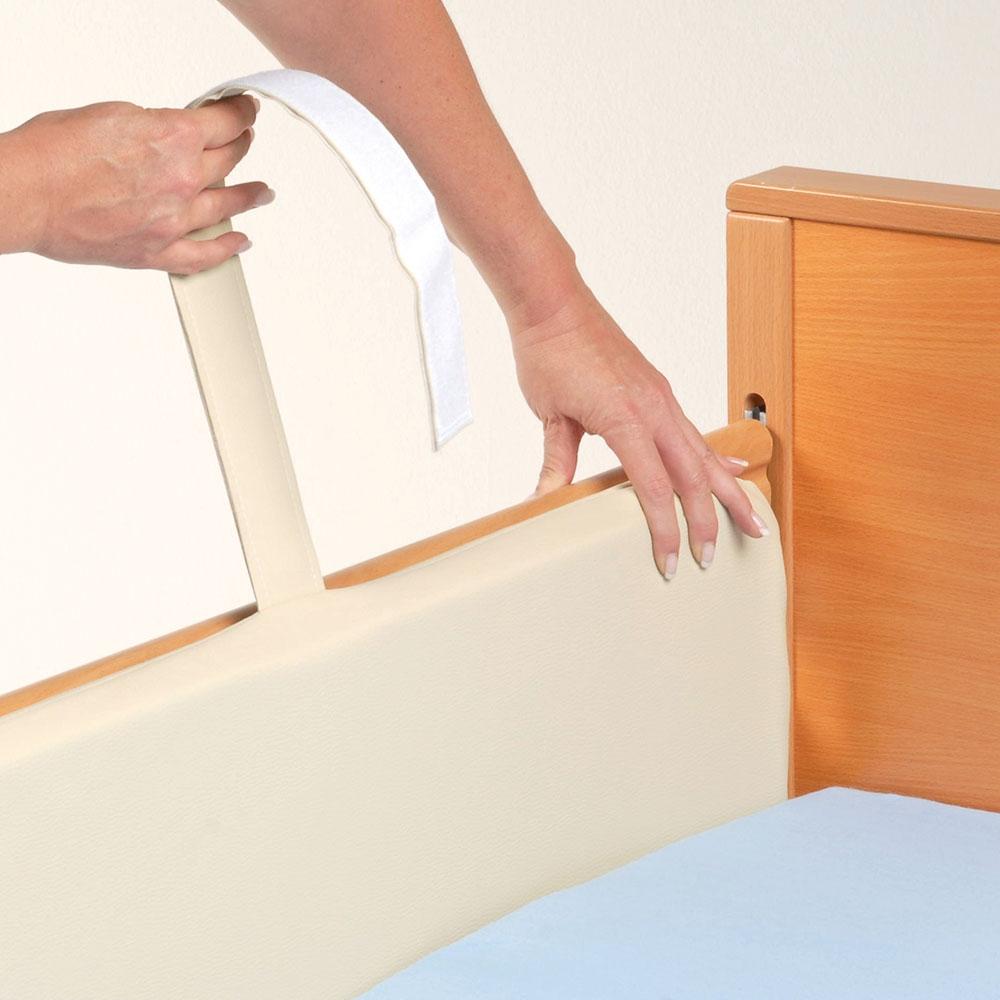Seitengitterpolster 190 cm lang für den Schutz in der Nacht