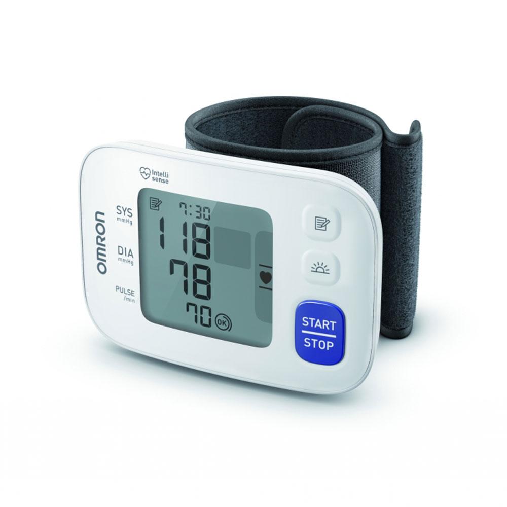 Blutdruckmessgerät RS4 von OMRON für das Handgelenk