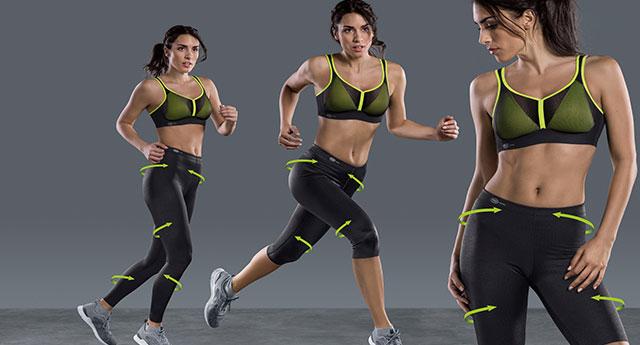 Sporthosen und Sportpantys von Anita für Ihr Workout